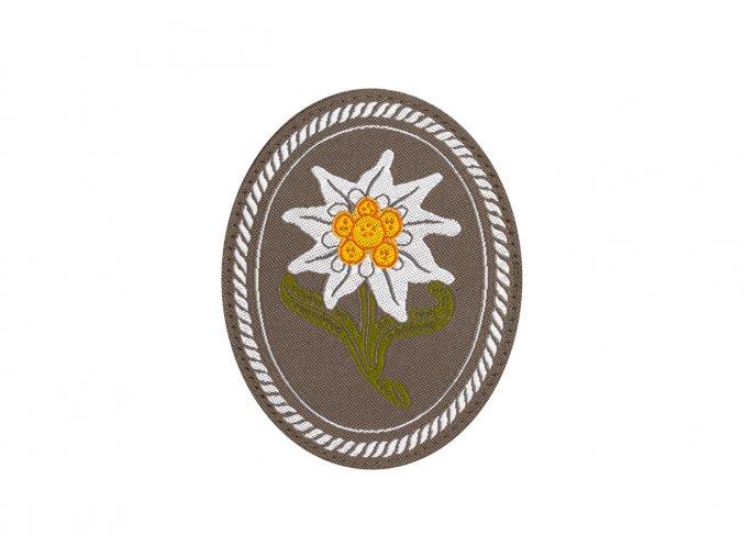 Nášivka CLAWGEAR Edelweiss Patch Oval
