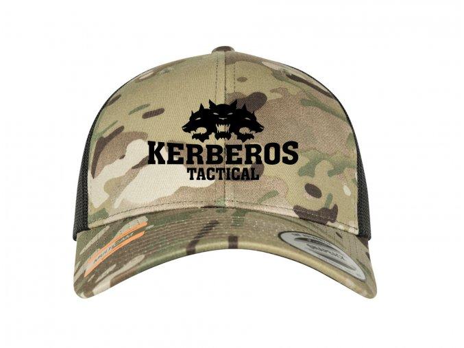 Čepice KERBEROS TACTICAL Snapback Trucker Mesh Cap