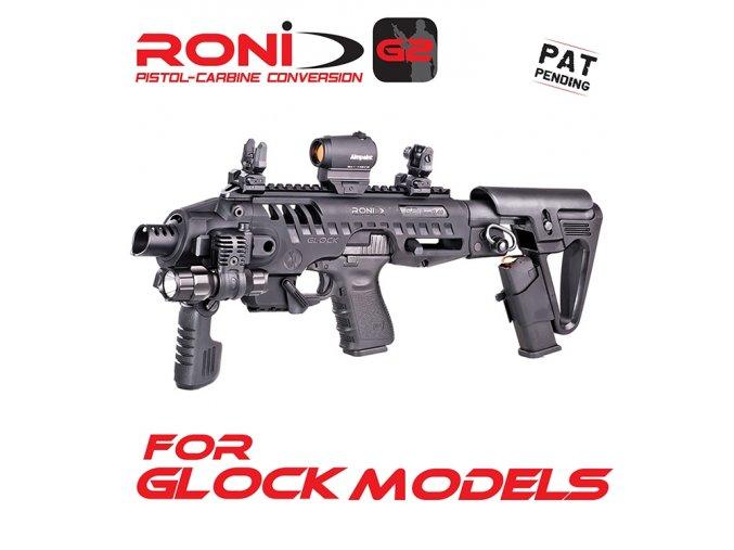 Konverze CAA RONI G2 pro pistole GLOCK