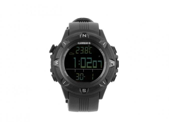 Multifunkční hodinky CLAWGEAR Mission Sensor II - All Black