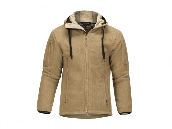 Fleecová bunda CLAWGEAR Milvago Fleece Hoody - Coyote
