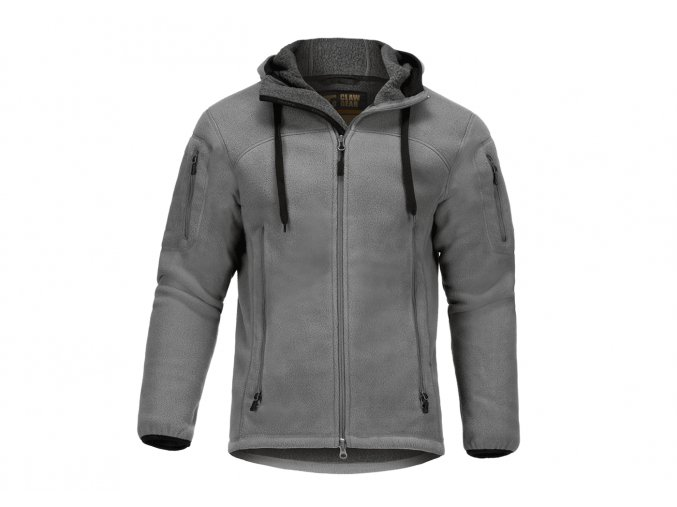 Fleecová bunda CLAWGEAR Milvago Fleece Hoody - Solid Rock