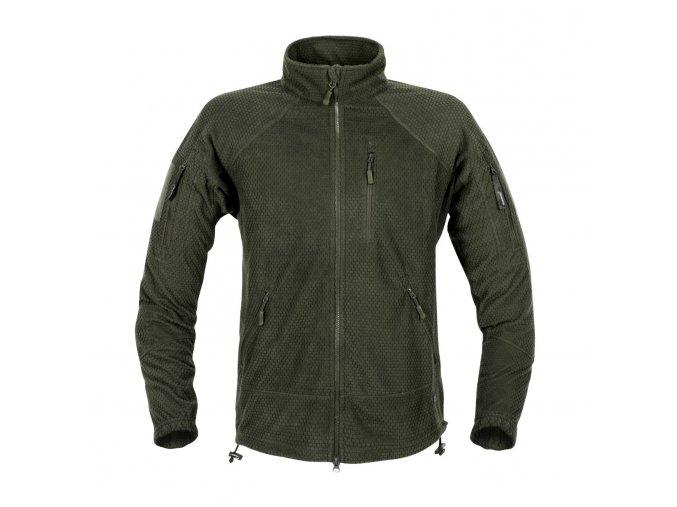 Fleecová bunda HELIKON Alpha Tactical Grid Fleece