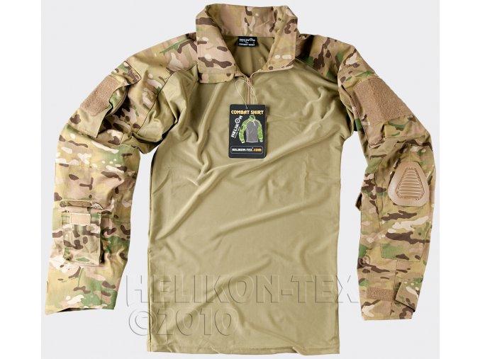 Taktická košile UBACS HELIKON - COMBAT SHIRT - Camogrom