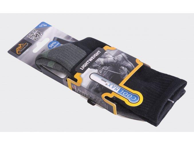 Ponožky HELIKON LIGHTWEIGHT - Black