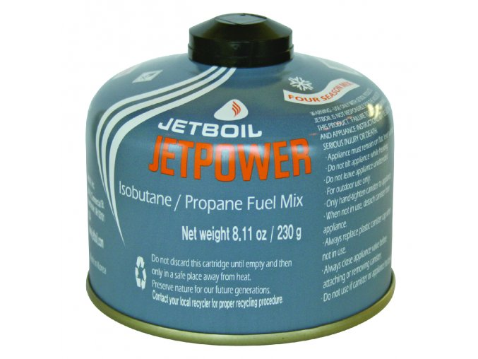 Plynová kartuše JETBOIL JetPower Fuel 230g