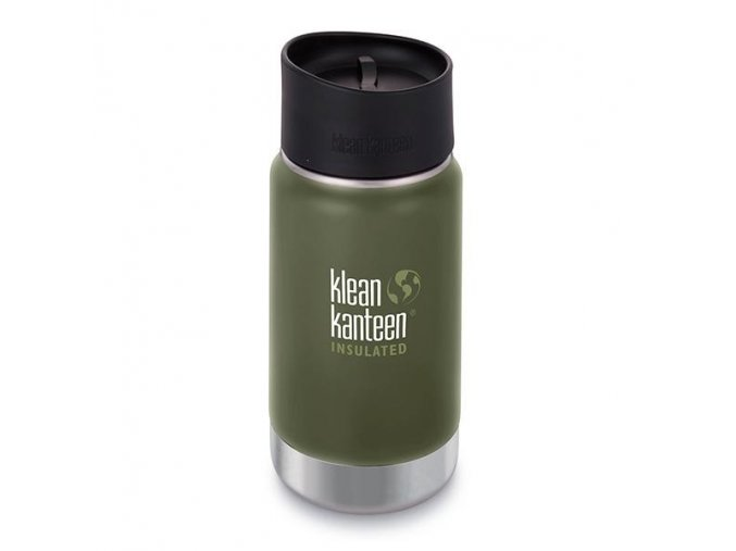 Termoska KLEAN KANTEEN Vacuum Insulated Wide 12oz (355 ml)