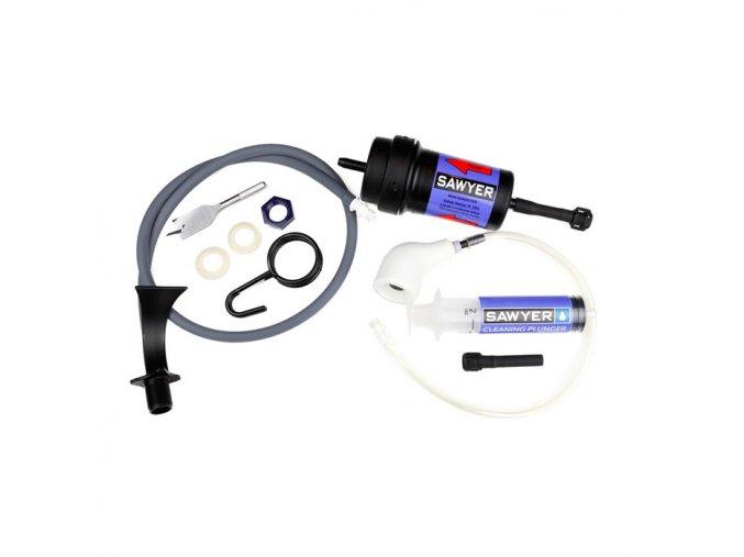 Vodní cestovní filtr SAWYER Point ZeroTWO™ Bucket Purifier Assembly Kit
