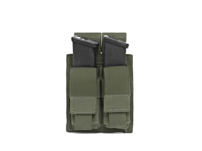 Sumka na zásobníky Warrior Assault Systems Direct Action Double DA 9mm Pistol Pouch - Olive Drab