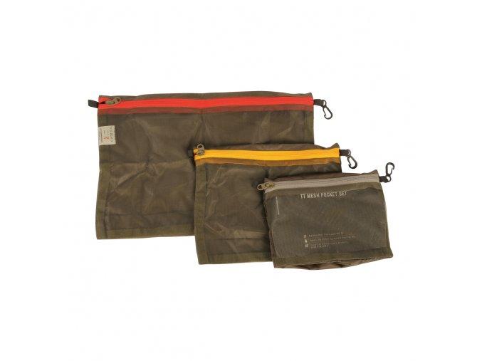 Kapsa TASMANIAN TIGER Mesh Pocket Set - Olive