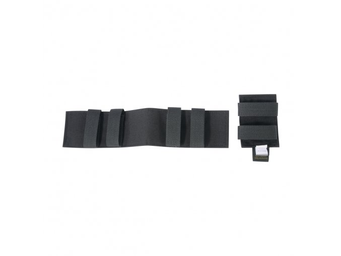 Velcro panely TASMANIAN TIGER Modular Patch Holder - Black