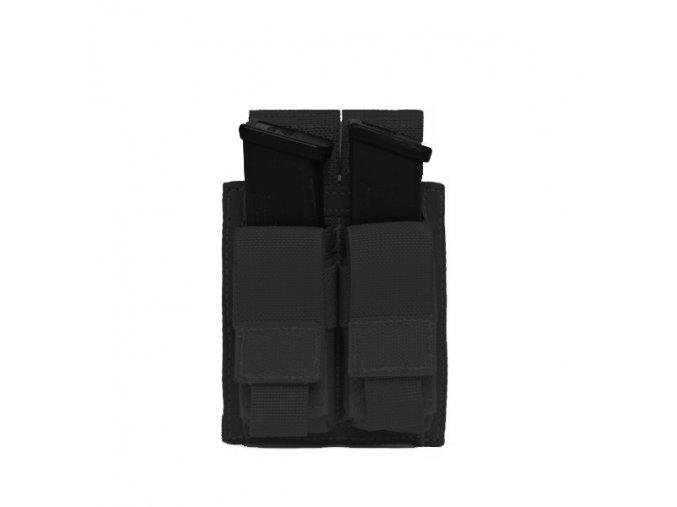 Sumka na zásobníky Warrior Assault Systems Direct Action Double DA 9mm Pistol Pouch - Black