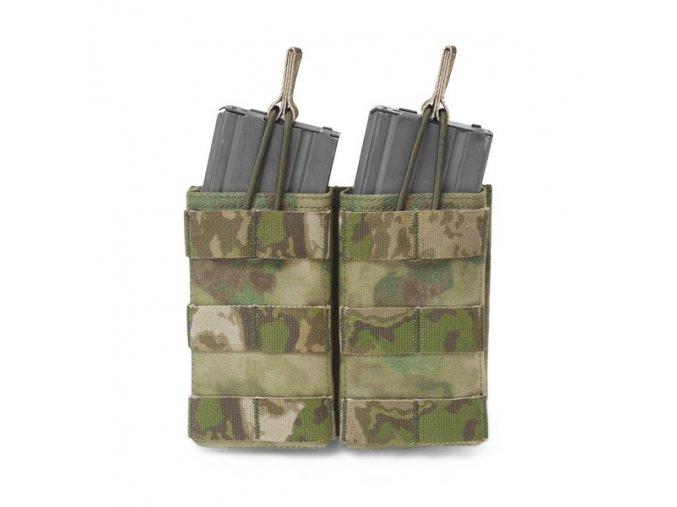 Otevřená sumka na dva zásobníky Warrior Assault Systems Double MOLLE Open Pouch 5.56mm - A-TACS FG
