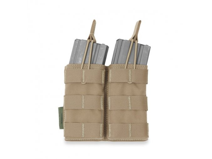 Otevřená sumka na dva zásobníky Warrior Assault Systems Double MOLLE Open Pouch 5.56mm - Coyote Tan