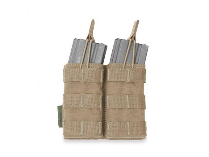 Otevřená sumka na dva zásobníky Warrior Assault Systems Double MOLLE Open Pouch 5.56mm - Coyote Tan