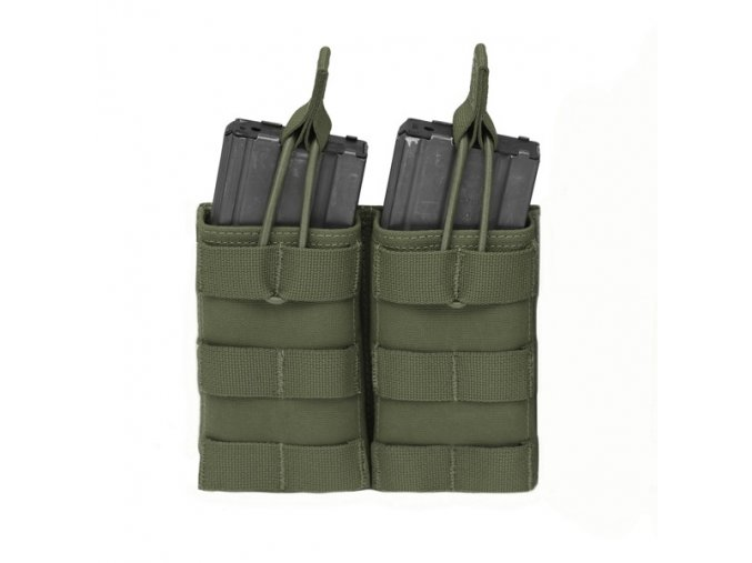 Otevřená sumka na dva zásobníky Warrior Assault Systems Double MOLLE Open Pouch 5.56mm - Olive Drab