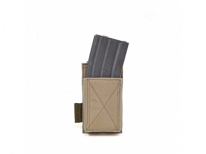 Otevřená sumka na zásobník WARRIOR ASSAULT SYSTEMS Single Elastic Mag Pouch - Coyote Tan