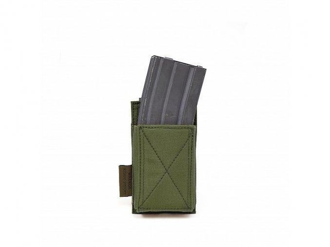 Otevřená sumka na zásobník WARRIOR ASSAULT SYSTEMS Single Elastic Mag Pouch - Olive Drab