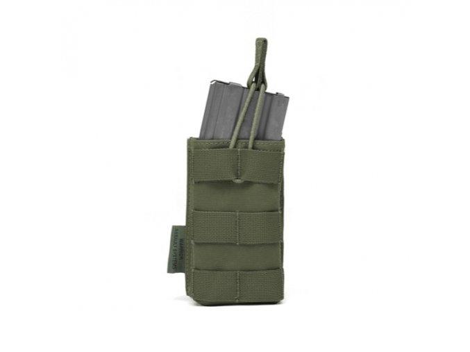 Otevřená sumka na zásobník WARRIOR ASSAULT SYSTEMS Single MOLLE Open Pouch 5.56mm - Olive Drab