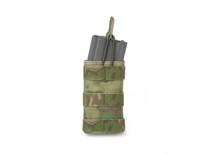 Otevřená sumka na zásobník WARRIOR ASSAULT SYSTEMS Single MOLLE Open Puch 5.56mm - A-TACS FG