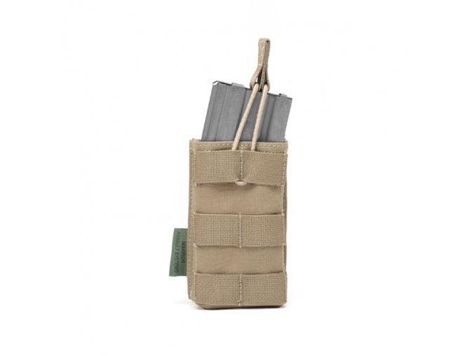 Otevřená sumka na zásobník WARRIOR ASSAULT SYSTEMS Single MOLLE Open Puch 5.56mm - Coyote Tan