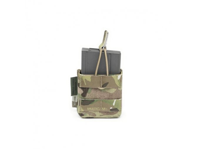 Otevřená sumka na jeden zásobník Warrior Assault Systems Single 7.62 x 51mm Open Short - MultiCam