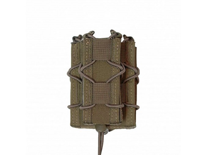 Univerzální sumka WARRIOR ASSAULT SYSTEMS Single Quick Mag with Single Pistol - Coyote Tan
