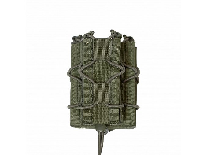Univerzální sumka WARRIOR ASSAULT SYSTEMS Single Quick Mag with Single Pistol - Olive Drab