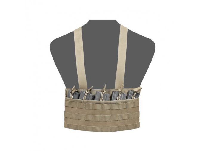 Chest Rig WARRIOR ASSAULT SYSTEMS Elite Ops Light Assault Rig - Coyote Tan
