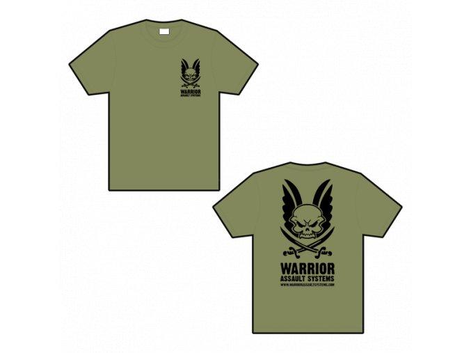 Triko WARRIOR ASSAULT SYSTEMS T-shirt - Olive Drab