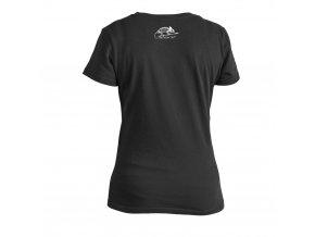 Dámské triko HELIKON Women's Skeleton T-Shirt - Black