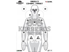 Střelecký terč O.T.T. Skeleton