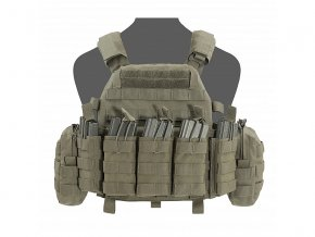 Nosič plátů WARRIOR ASSAULT SYSTEMS - DCS DA 5.56mm Plate Carrier - Ranger Green