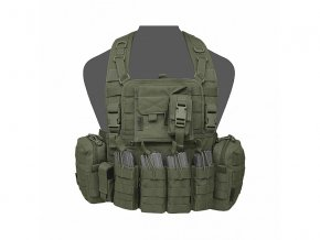 Hrudní nosič WARRIOR ASSAULT SYSTEMS 901 Elite 4 - Olive Drab
