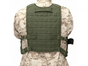 Zádový panel k Chest Rigům WARRIOR ASSAULT SYSTEMS Elite Ops Back Panel - Olive Drab