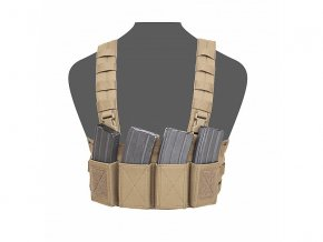 Hrudní nosič WARRIOR ASSAULT SYSTEMS Elite Ops Low Profile Chest Rig - Coyote Tan