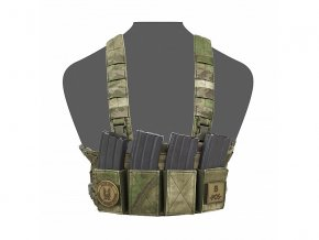 Hrudní nosič WARRIOR ASSAULT SYSTEMS Elite Ops Low Profile Chest Rig - A-TACS FG