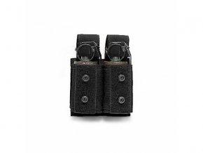 Sumka na dva granáty nebo dýmovnice Warrior Assault Systems Double 40mm Grenade - Black