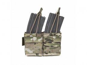 Samosvorná sumka na zásobníky WARRIOR ASSAULT SYSTEMS Double Snap Mag Pouch 5.56mm - MultiCam®