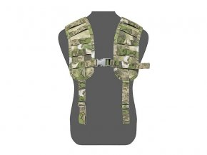 Tracky WARRIOR ASSAULT SYSTEMS Elite Ops MOLLE Harness - A-TACS FG
