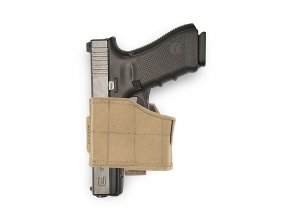 Pistolové pouzdro WARRIOR ASSAULT SYSTEMS Universal Pistol Holster LEFT - Coyote Tan