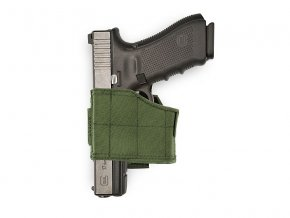 Pistolové pouzdro WARRIOR ASSAULT SYSTEMS Universal Pistol Holster LEFT - Olive Drab
