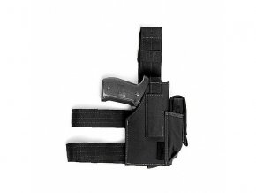 Stehenní pouzdro WARRIOR ASSAULT SYSTEMS Drop Leg Holster - Black