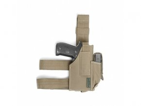 Stehenní pouzdro WARRIOR ASSAULT SYSTEMS Drop Leg Holster - Coyote Tan