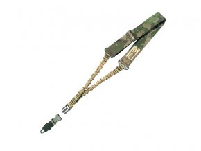Jednobodový popruh na zbraň WARRIOR ASSAULT SYSTEMS Single Point Bungee Sling - A-TACS FG