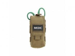 IFAK sumka WARRIOR ASSAULT SYSTEMS Individual First Aid Kit - Coyote Tan