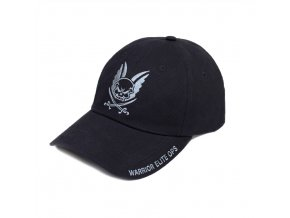 Kšiltovka WARRIOR ASSAULT SYSTEMS Embroidered Black Cap