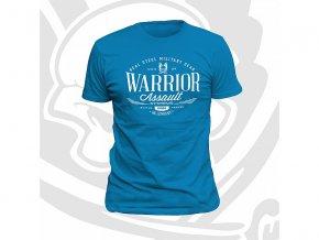 Triko WARRIOR ASSAULT SYSTEMS Vintage T-Shirt - Caribbean Blue