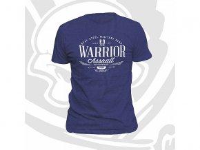 Triko WARRIOR ASSAULT SYSTEMS Vintage T-Shirt - Heather Blue