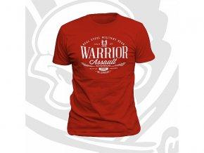 Triko WARRIOR ASSAULT SYSTEMS Vintage T-Shirt - Red